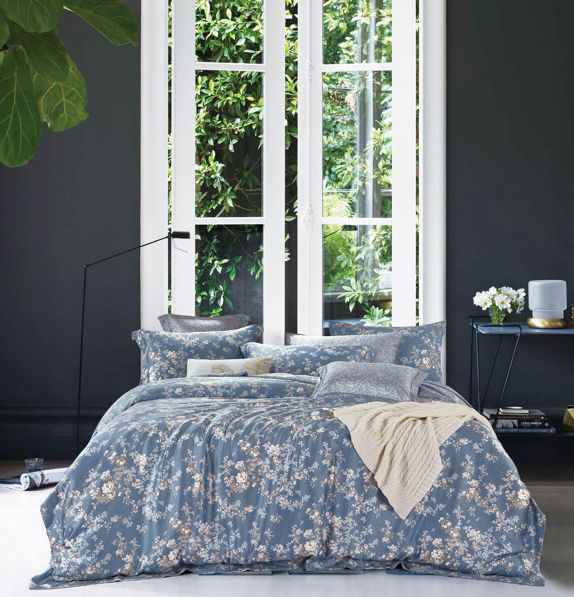 Постельное белье Экзотика Чайная роза Комплект 2 спальный Поплин