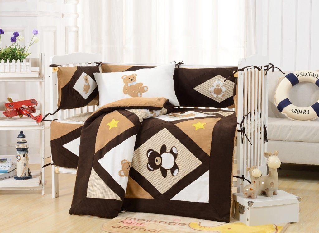 Постельное в кроватку для новорожденных интернет магазин